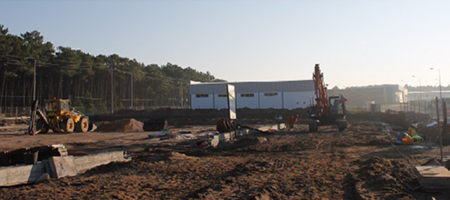 Construction phase III: September 2014