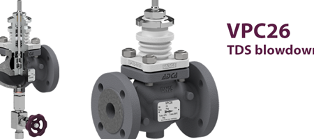 The new TDS blowdown control valve