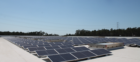 New expansion: 660 solar panels are now in place on our roof